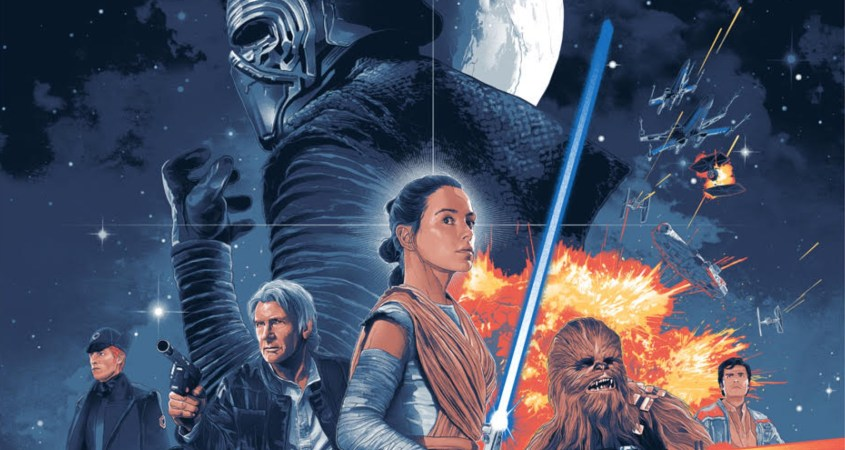Star Wars: The Force Awakens is a 2015 film directed by J. J. Abrams that became the fourth-highest-grossing film of all time. (Courtesy of slashfilm.com)