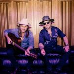 Duane Betts, left, and Devon Allman, right, leaders of the new Allman Betts Band, photographed during a tour stop in Clearwater, Florida. (Courtesy of Eric Ryan Anderson)