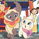 Pictured is from the show 'Sagwa The Chinese Siamese Cat'. (Courtesy of Kittentoob)