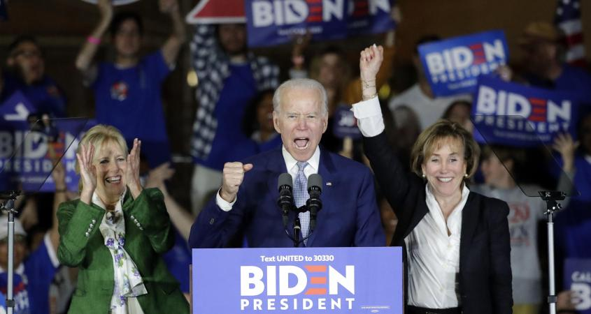 On Tuesday, March 3, the state of Alabama voted overwhelmingly for former Vice President Joe Biden to be the Democratic nominee for president. (Chris Carlson/AP)