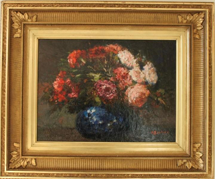 Vase of Flowers – Alfred Bastien