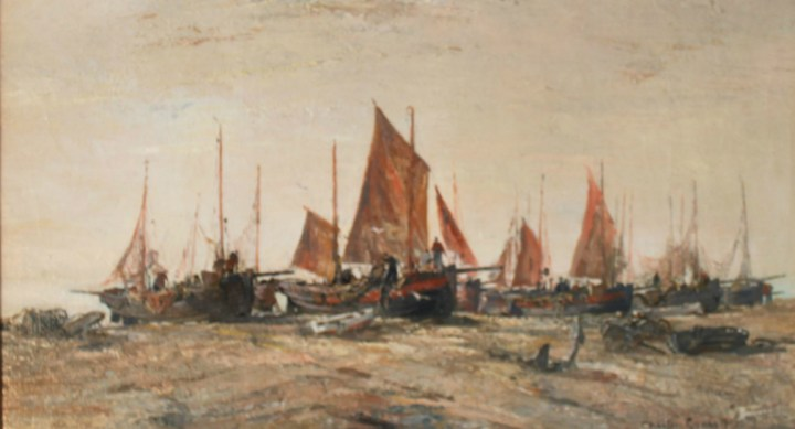 SOLD: Hastings Luggers – Charles Ernest Cundall