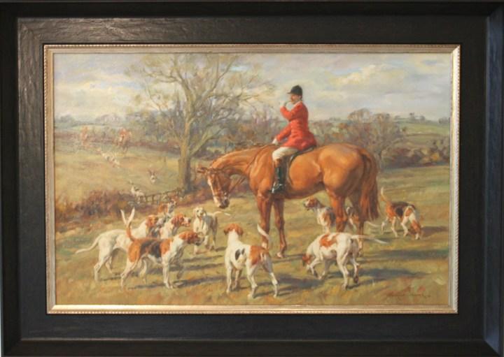 Huntsman on Chestnut hunter