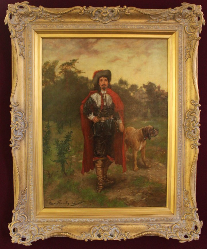 Royalist with his dog – Edgar Bundy