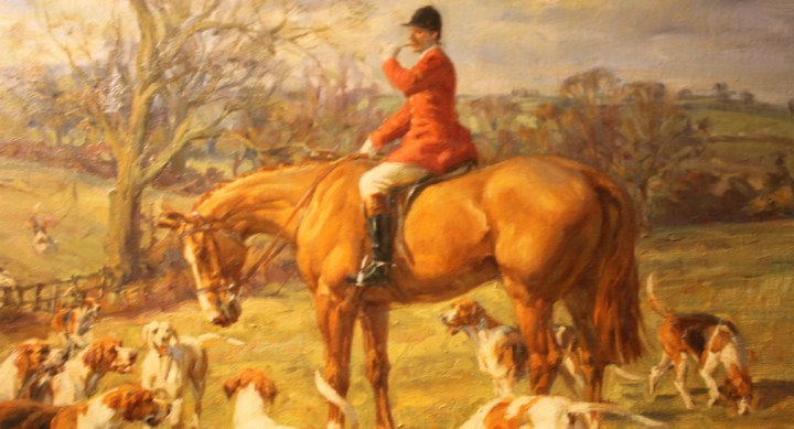 Huntsman on Chestnut Hunter – Frederick J Haycock