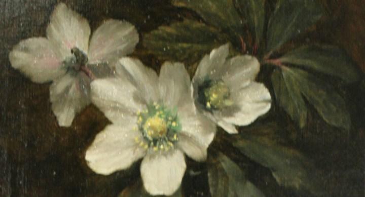 SOLD: Christmas Roses – Albert Frederick William Hayward