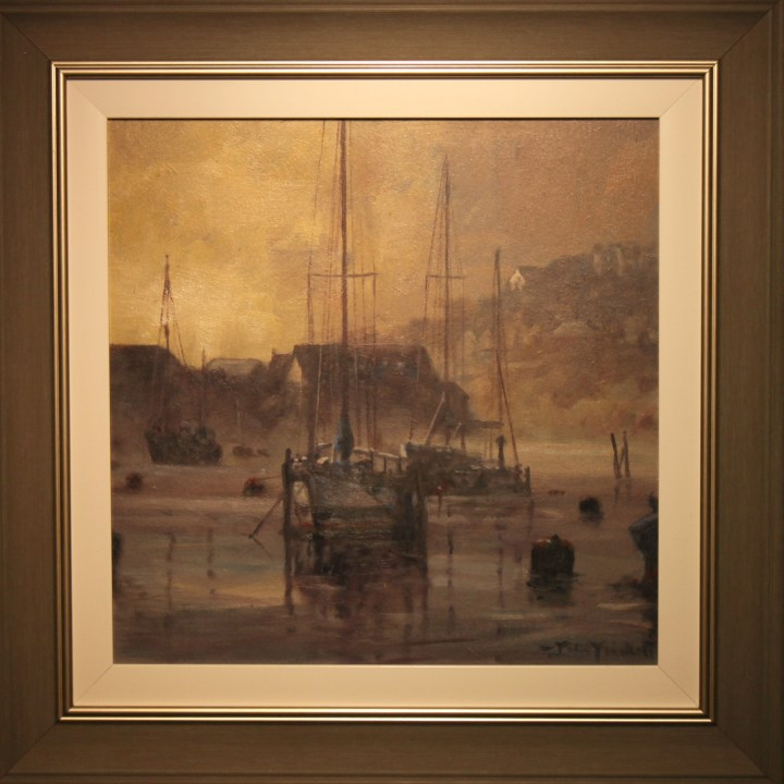 Dawn. Looe,Cornwall - John Trickett