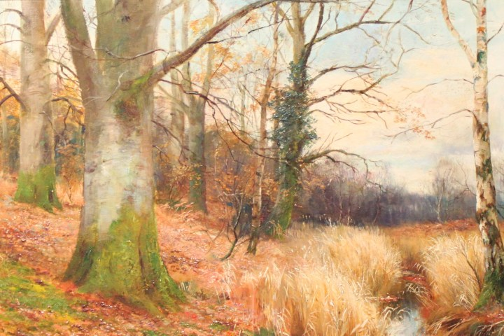SOLD : In the Pathless Woods – William Lakin Turner