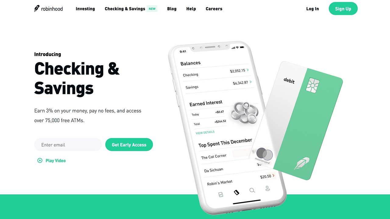 Robinhood Takes On The World With New Checking And Savings