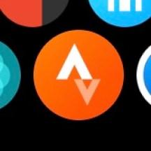 Strava watch icon