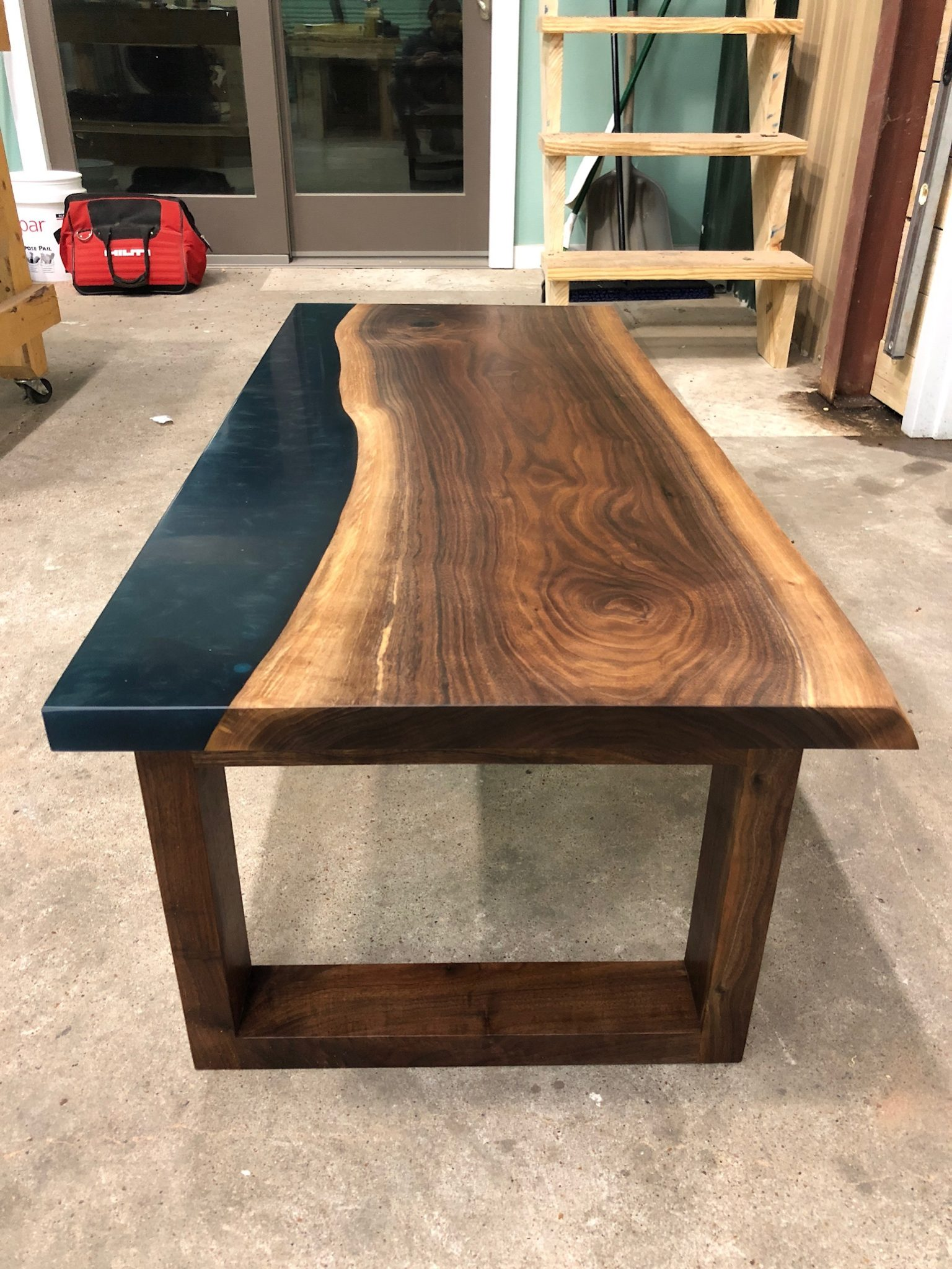 Forrest Design Co Walnut coffee table