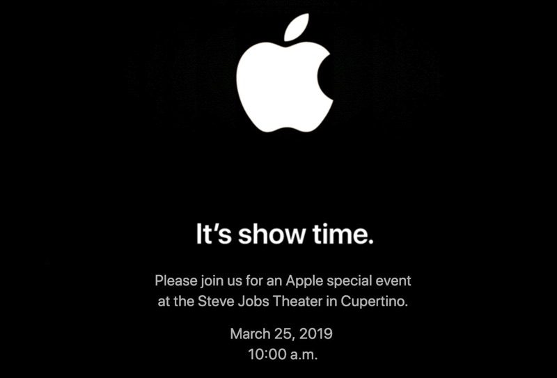 Apple's Spring Event Invite