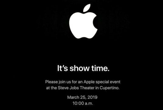 Apple's Spring Event Invite