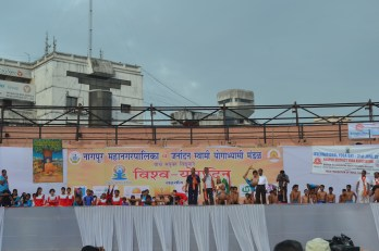 21st June JS Yog International Yoga Day Yashwant Stadium, Nagpur CM Devendra Fadnavis Union Minister Nitin Gadkari_61