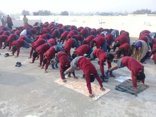 js yog shaleya spardha K.T.R.S. English High school6&7th Standared-3