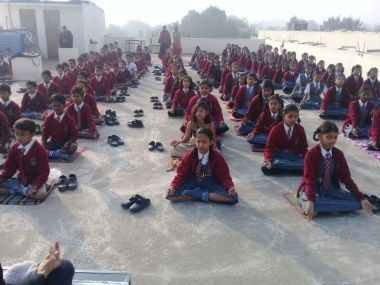 js yog shaleya spardha K.T.R.S. English High school6&7th Standared