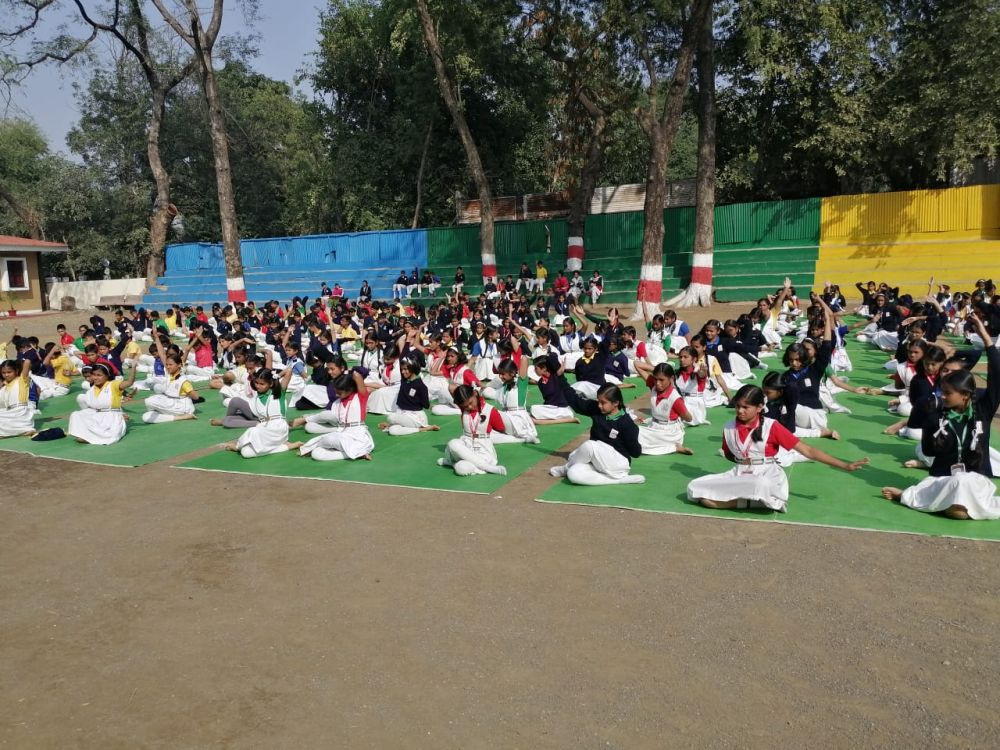 BKVV-telangkhedi-27-12-19-Inter-school-yoga-competition-training-2019-1
