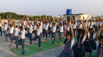 KTR-school-Jaripataka-6-12-19-Inter-school-yoga-competition-training-2019