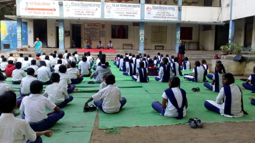 Tilak-vidyalay-dhantoli-9-12-19-Inter-school-yogasan-competition-training-2019-3