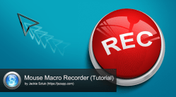 Mouse Macro Recorder tutorial