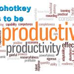 6 Autohotkey tricks to be more productive
