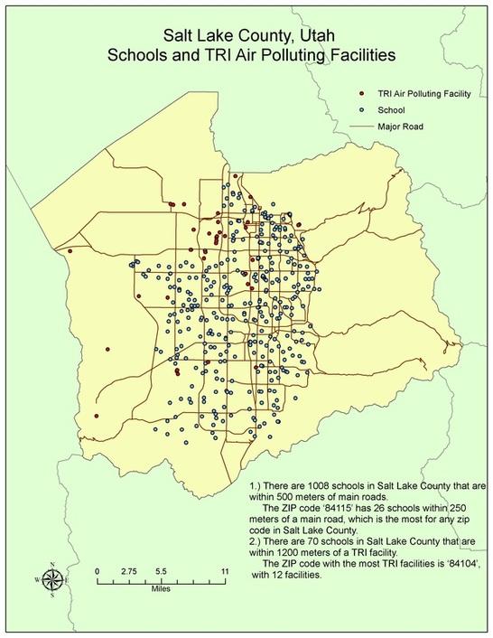 Salt Lake Zip Code Map : County, Catalog, Online
