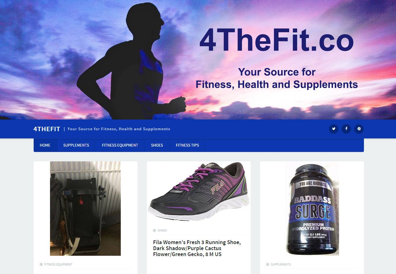 4TheFit.co | Developed by JTag Internet Design