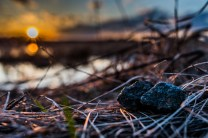 Sunset with the Rocks
