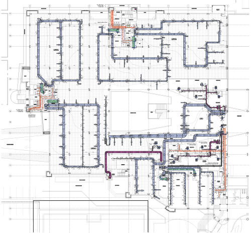 small resolution of hvac cad drawing