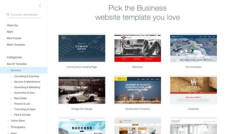 wix-templates