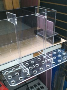 30 plug frag holder - Frag Racks