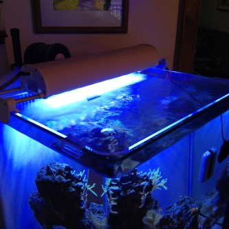 Solid acrylic aquarium covers