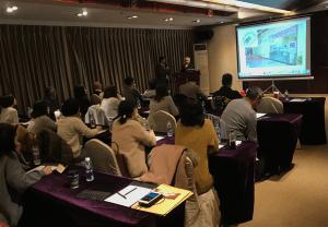 JTCVM国際中獣医学院日本校上海中医学研修ツアー|05_金日山先生講義