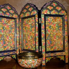 """How Much Fabric To Cover A Chair Cushion Folding For Bedroom """"kashmiri Traditional Embroidery"""" 