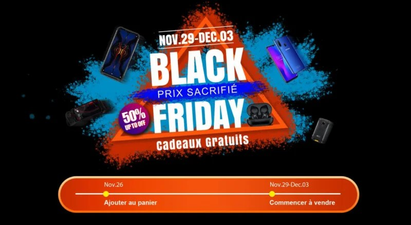 Black Friday DOOGEE , Grande vente sur C-discount, obtenez plus de 50% de réduction