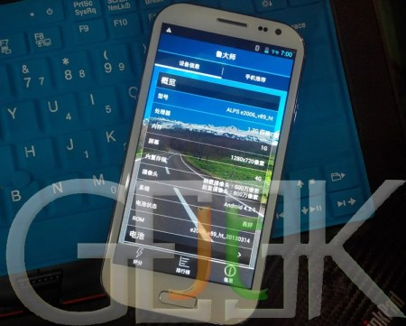 Clone Samsung Galaxy S4 Quad-core