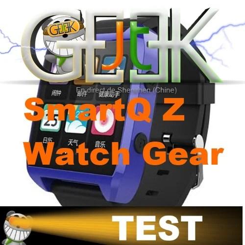 Smartwatch SmartQ Z en test video