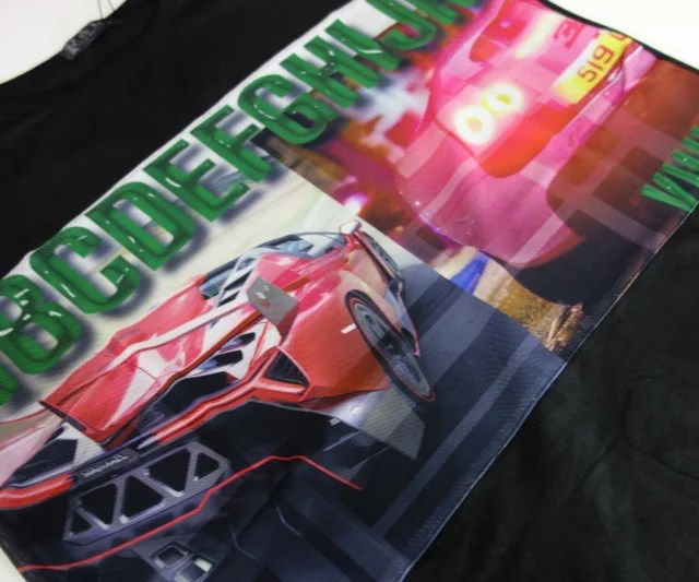 t-shirt-sport-car-korean-coton-black