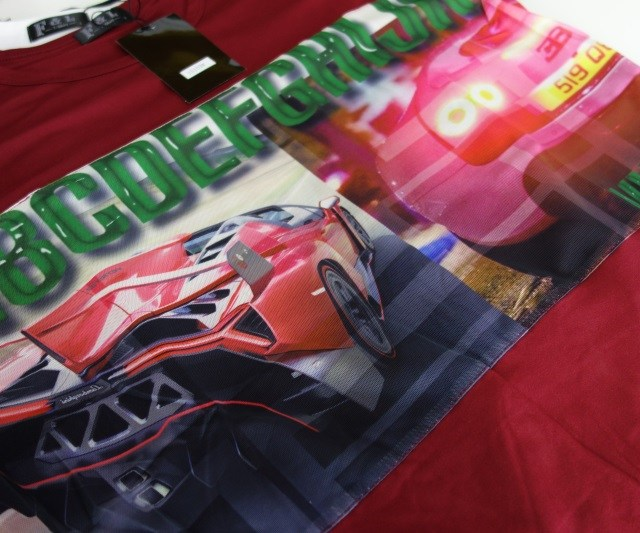 t-shirt-sport-car-korean-coton-red
