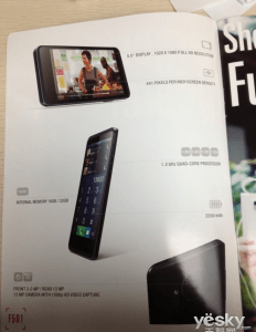 Présentation catalogue Umeox F501 Full HD