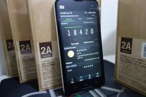 Xiaomi M2A Antutu