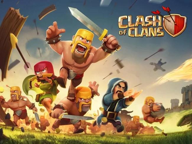 jeu android stratégie clash of clans