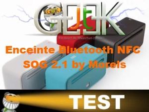 enceinte bluetooth nfc Test