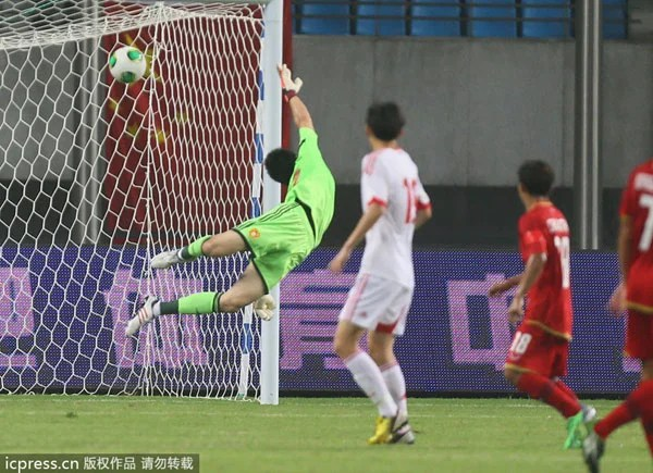 match de foot chine thailand