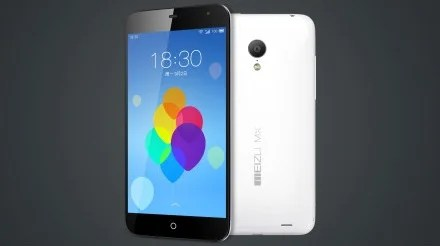 smartphone android meizu mx3