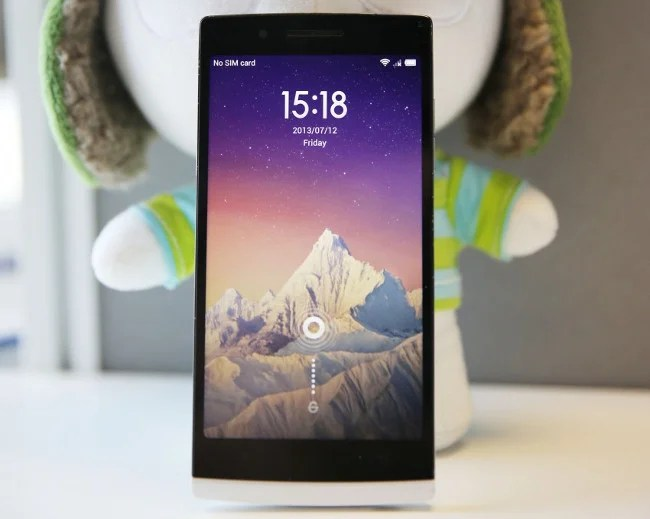 rom miui v5 sur le smartphone oppo find 5