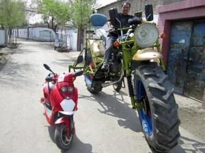 moto géante en chine