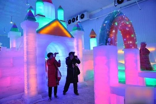 musée dédié à la sculpture sur glace
