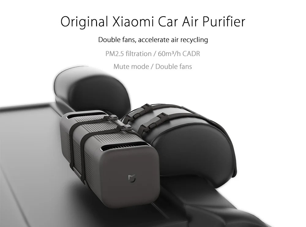 Wild Air Cleaners For Cars : Xiaomi car air cleaner un purificateur d pour ta