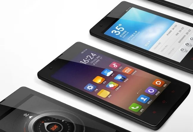 smartphone android low cost xiaomi red rice